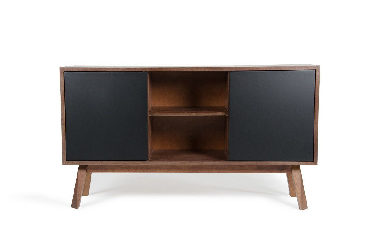 Credenza Dark Brown : Modern buffets & sideboards at contemporary furniture warehouse