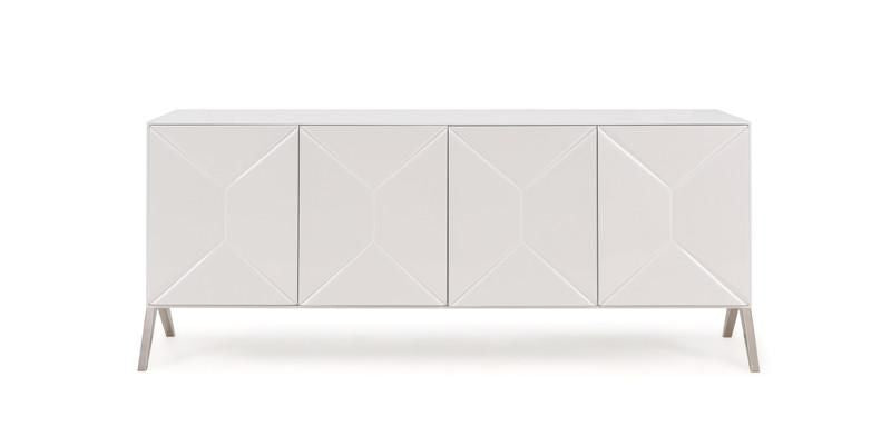 Cool Vig Furniture Vgvcg1109 Modrest Candid Modern Glossy White Buffet Sale At Contemporary Furniture Warehouse Today Only Download Free Architecture Designs Terchretrmadebymaigaardcom
