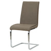 Gladys PU Leather Chair (Set of 2) Highland Brown