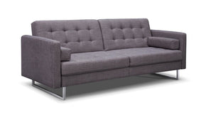Giovanni Sofa Bed Gray Fabric