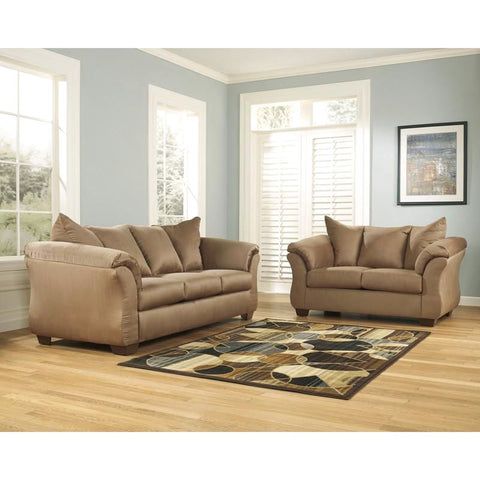 Signature Design By Ashley Darcy Living Room Set (Multiple Colors) Mocha