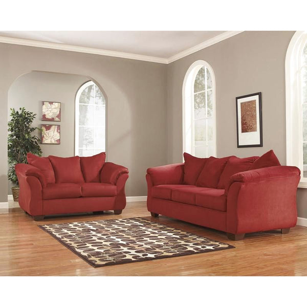 Signature Design By Ashley Darcy Living Room Set (Multiple Colors) Red