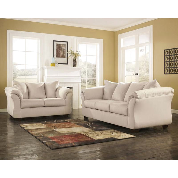 Signature Design By Ashley Darcy Living Room Set (Multiple Colors) Stone