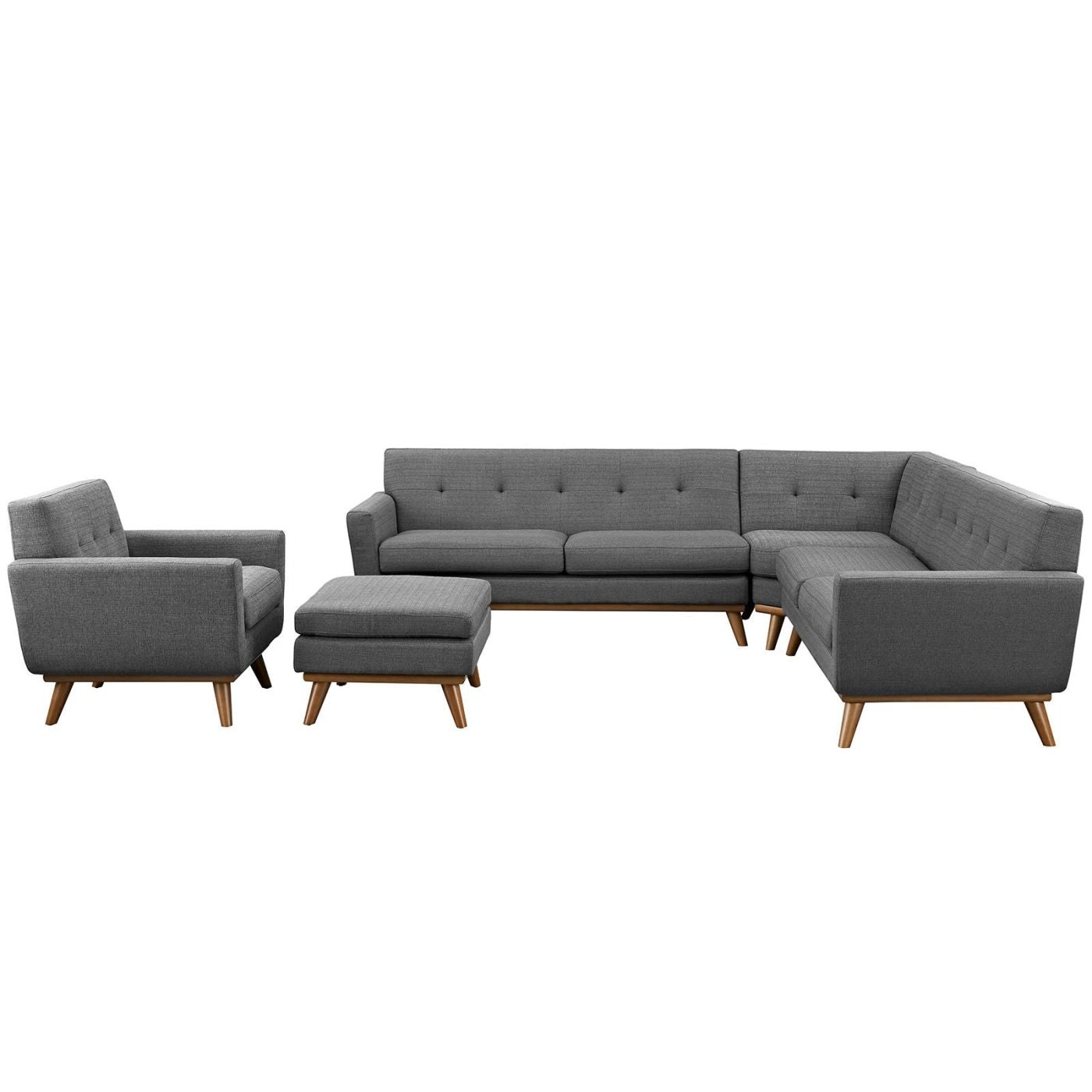 Modway Living Room Sets on sale. EEI-2186-DOR-SET Engage 5 Piece Sectional  Sofa only Only $2,218.55 at Contemporary Furniture Warehouse