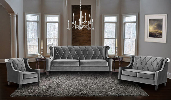 Amazing Deal On Armen Living Lc8443gray Barrister Sofa In Gray