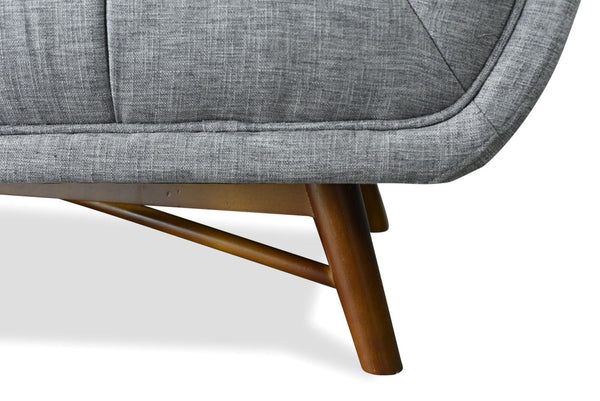 Sofas - Edloe Finch EF-Z1-3S004 Zola Mid-Century Modern Sofa French Grey | 630591784500 | Only $1098.80. Buy today at http://www.contemporaryfurniturewarehouse.com