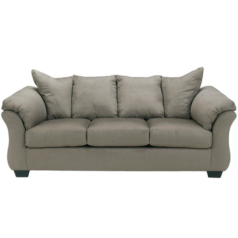 Signature Design By Ashley Darcy Sofa In Cobblestone Fabric