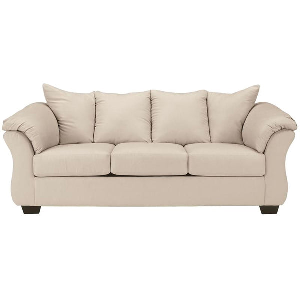 Signature Design By Ashley Darcy Sofa In Cobblestone Fabric Stone
