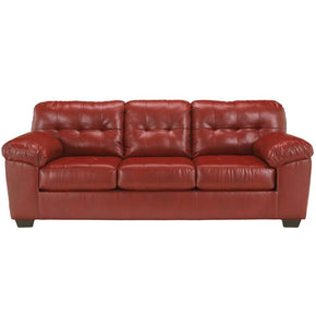 Sofas - Flash Furniture FSD-2399SOF-RED-GG Signature Design by Ashley Alliston Sofa in Salsa DuraBlend | 889142016106 | Only $554.80. Buy today at http://www.contemporaryfurniturewarehouse.com