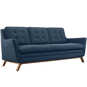 Beguile Upholstered Fabric Sofa Azure