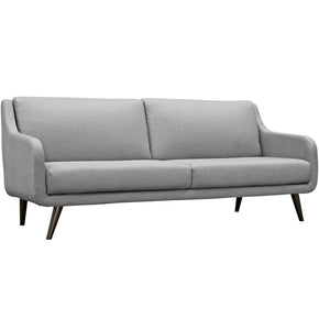 Verve Upholstered Sofa Light Gray