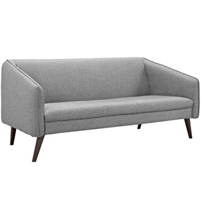 Slide Upholstered Sofa Light Gray