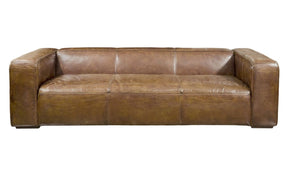 Bolton Sofa Brown Top Grain Leather Hardwood & Plywood Frame