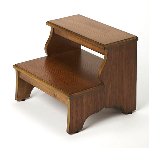 Melrose Transitional Step Stool Medium Brown