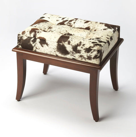 Dania Modern Rectangular Stool Multi-Color