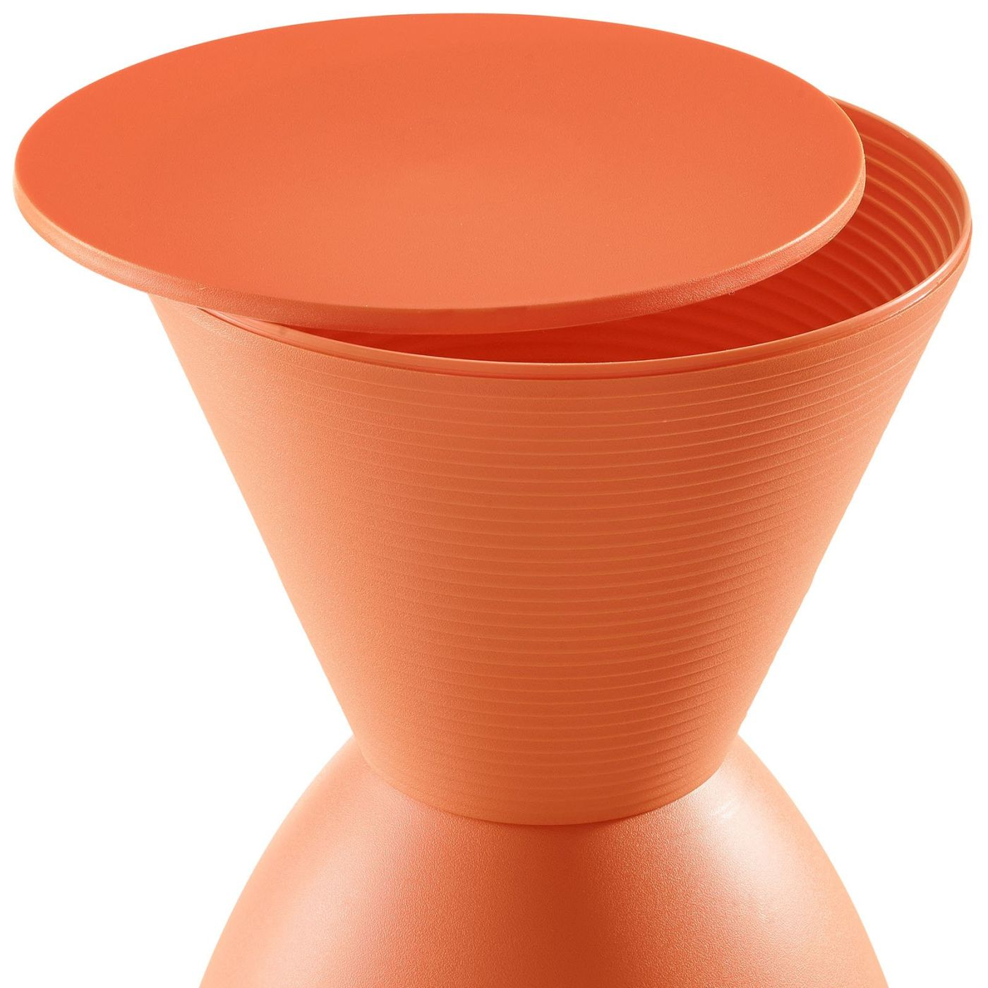 Haste Modern Plastic Stool By Modway Eei 1699 Whi