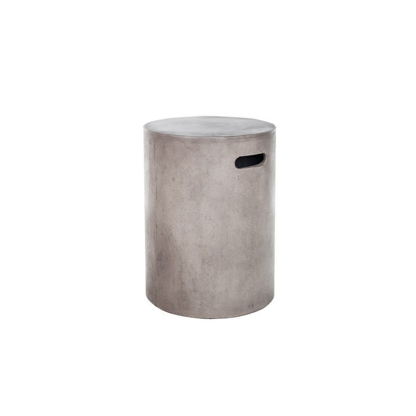 Stools - Moes Home Collection BQ-1004-25 Cato Fiberstone Stool Concrete | 849043062992 | Only $168.00. Buy today at http://www.contemporaryfurniturewarehouse.com