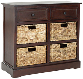 Herman Storage Unit Dark Cherry / Organization
