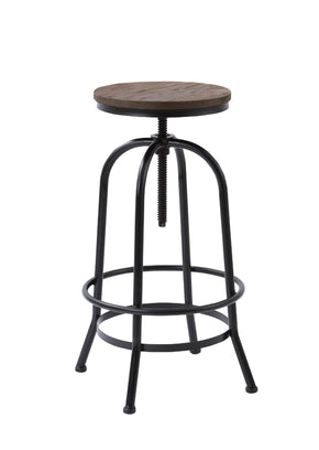 Vig Furniture VGCBT-14142 Modrest Davis Modern Brown Wood Bar Stool