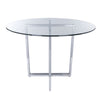Table Bases - Euro Style EURO-81040CHRM Legend Dining Table Base in Chromed Steel | 727511957035 | Only $167.98. Buy today at http://www.contemporaryfurniturewarehouse.com