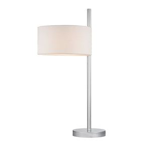 Attwood Table Lamp In Polished Nickel