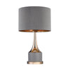 Small Gold Cone Neck Lamp Grey,Gold