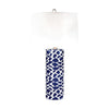 Scale Sketch Table Lamp Navy Blue,white