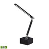 Tilting Bar Task Lamp Black,chrome Table