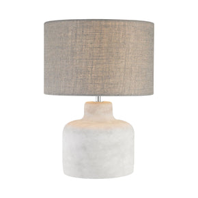 Rockport 1 Light Table Lamp In Polished Concrete