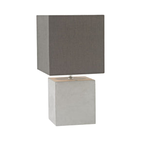 Brocke Table Lamp Polished Concrete