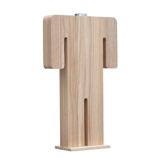 Person Table Lamp Male Natural