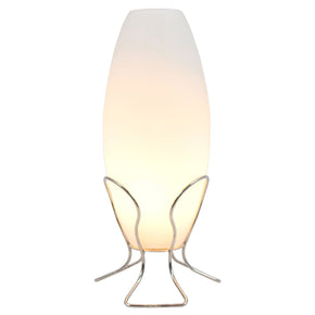 Cocoon Lamp Frosted Glass Table