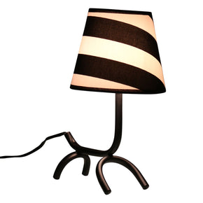 Woof Table Lamp Black White