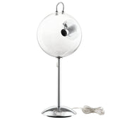 Cheer Modern Transparent Glass Shade Table Lamp Clear