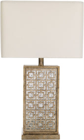 Surya Aetna Glam Table Lamp Antique White AET100-TBL | 888473561125| $231.00. Table Lamps - . Buy today at http://www.contemporaryfurniturewarehouse.com