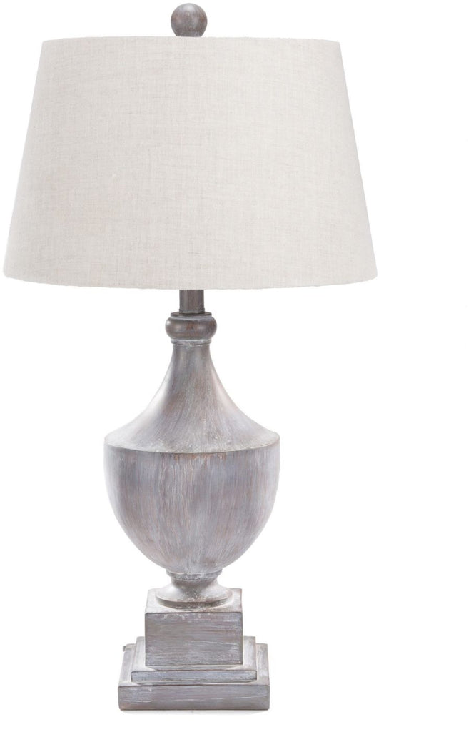Eleanor Traditional Table Lamp Gray Washed Oatmeal