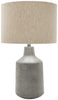 Table Lamps - Surya FMN100-TBL Foreman Rustic Table Lamp Painted Gray | 888473561408 | Only $211.20. Buy today at http://www.contemporaryfurniturewarehouse.com