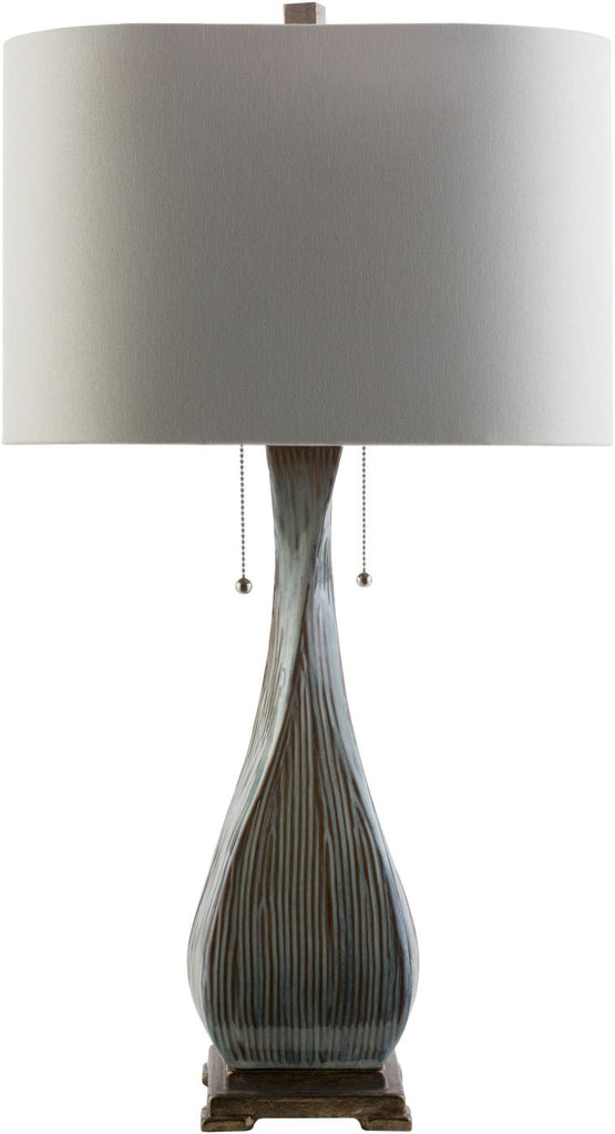 Table Lamps - Surya FTA220-TBL Fontana Rustic Table Lamp Light brown Beige | 888473208600 | Only $247.20. Buy today at http://www.contemporaryfurniturewarehouse.com