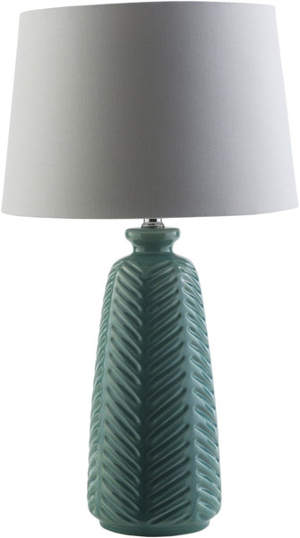 Table Lamps - Surya GIL863-TBL Gilani Rustic Table Lamp Blue White | 888473208983 | Only $136.20. Buy today at http://www.contemporaryfurniturewarehouse.com