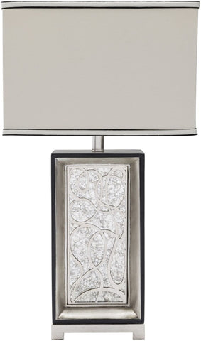 Heather Modern Table Lamp Antique White