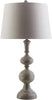 Kestiney Traditional Table Lamp Antique Silver Neutral