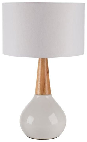 Kent Contemporary Table Lamp White