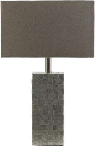 Landon Coastal Table Lamp Cream Natural