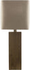 Longshore Contemporary Table Lamp Natural Grey