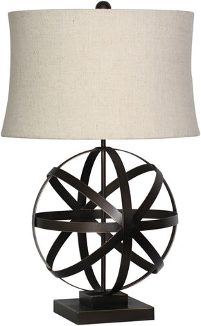 Industrial Table Lamp Bronze Neutral