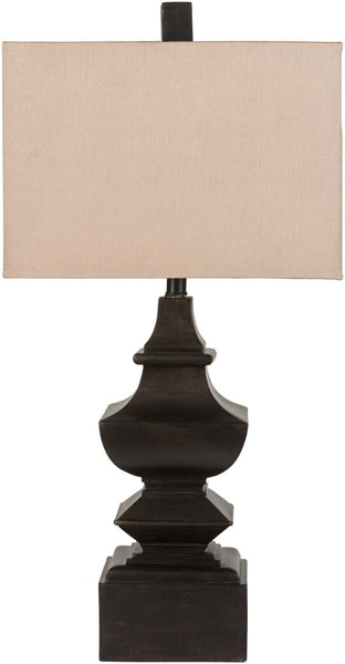 Lamp Traditional Table Aged Bronze Light Gold