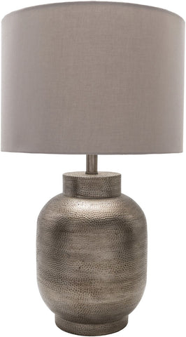 Surya Silverhill Global Table Lamp Pewter Finish Beige SVH100-TBL | 888473561934| $358.80. Table Lamps - . Buy today at http://www.contemporaryfurniturewarehouse.com