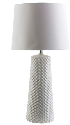 Wesley Coastal Table Lamp White
