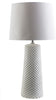 Wesley Coastal Table Lamp White White