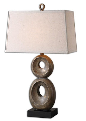Osseo Aged Table Lamp